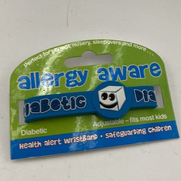 New Allergy Awareness Bands for Kids Diabetes Heal